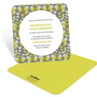 Lovely Vines Bat Mitzvah Party Invitations