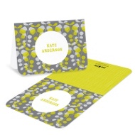 Lovely Vines Bat Mitzvah Thank You Cards