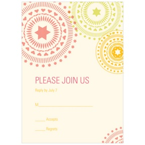 Circling Creative Designs -- Reply Cards