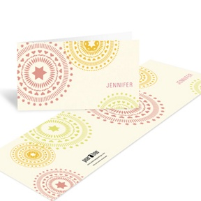 Circling Creative Designs -- Fun Thank You Notes