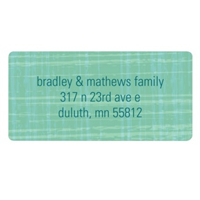 Vintage Scroll Paper -- Stylish Address Labels