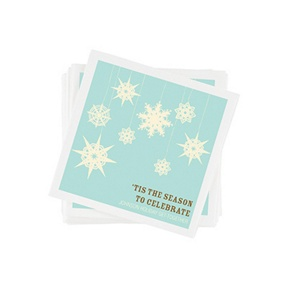 Whimsical Snowflakes Napkins -- Party Decorations