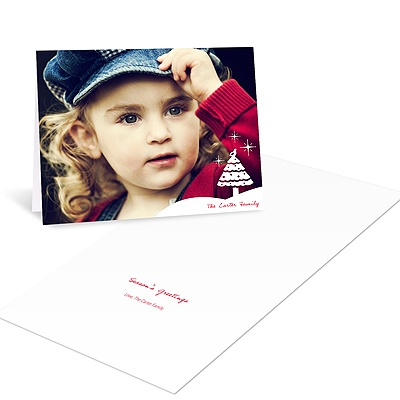 Starry Night -- Holiday Photo Cards
