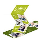 Best Year -- Trifold Christmas Photo Cards