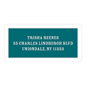 Simply Framed -- Custom Return Address Labels