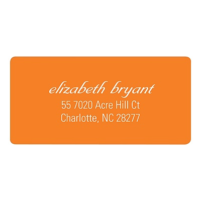 Simplistic Script Return Address Labels
