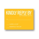 Modern Message -- Wedding Invitation Response Cards