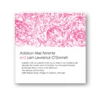 Blossoming Garden -- Chic Wedding Invitations