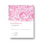 Chic Blossoms -- Wedding Reply Cards