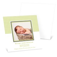 Baby Boy Gingham Treatment