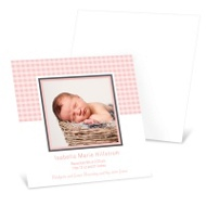 Baby Girl Gingham Treatment