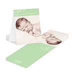 Trendy Bliss -- Photo Baby Thank You Cards