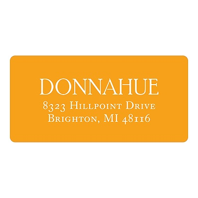Simple Sophistication Baby Address Labels