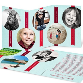 Tabbed Storyline -- Christmas Cards