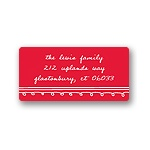 Simply Sketched -- Christmas Personalized Address Labels