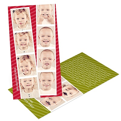 Photo Booth Memories Holiday Photo Cards