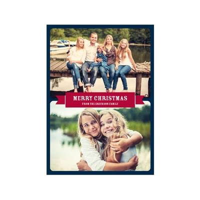 Photo Paper Photo Duet Holiday Photo Cards