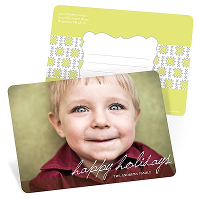 Simple Scripts -- Holiday Photo Postcards