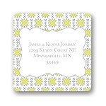 Imaginative Pattern -- Holiday Address Labels