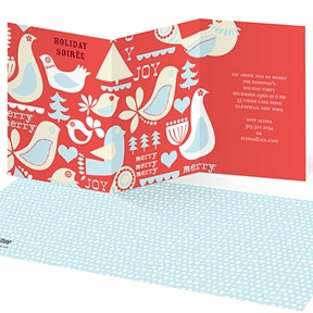 Iconic Array -- Holiday Party Invitations