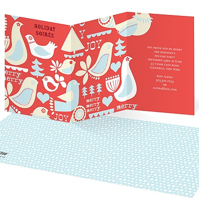 Iconic Array Holiday Party Invitations