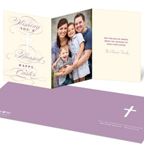 Divine Cross -- Religious Easter Cards