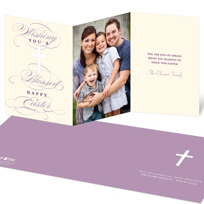 Divine Cross Religious Easter Cards