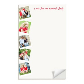 Scrapbook Page Vertical -- Custom Notepads