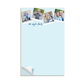 Scrapbook Page -- Custom Notepads