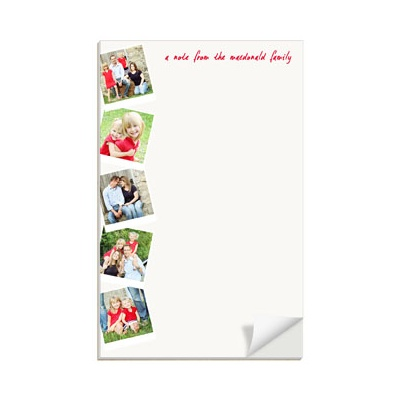 Scrapbook Page Vertical Notepads