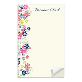 Beautiful Blossoms -- Custom Notepads