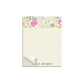 Doodle Charm -- Custom Notepads