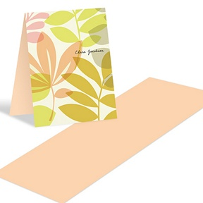 Spring Setting -- Personalized thank you Notes
