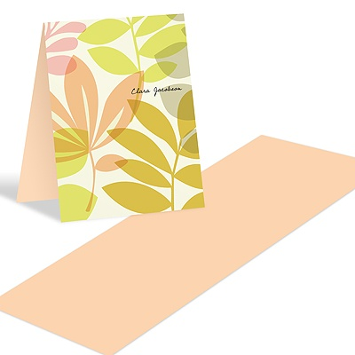 Spring Setting Personalized thank you Notes