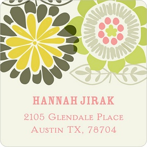 Retro Appeal -- Retro Address Labels