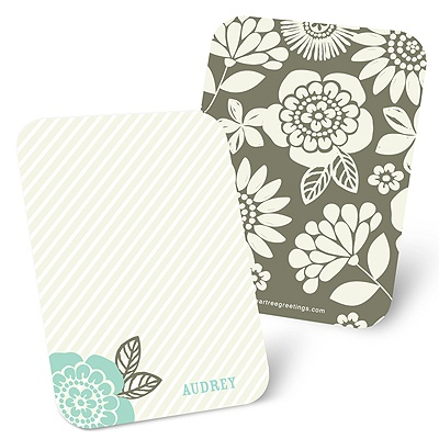 Flower Power Mini Note Cards
