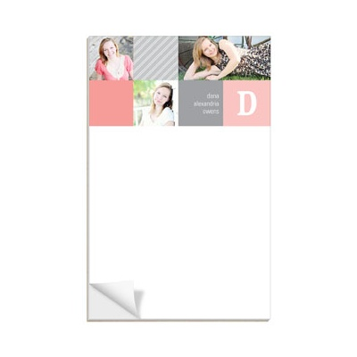 Modern Blocks Notepad Graduation Gifts