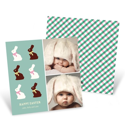 Sweet Tooth Bunnies -- Happy Easter Cards