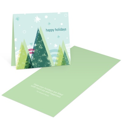 Picturesque Winter Christmas Cards
