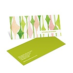 Watercolor Pattern -- Holiday Party Invites