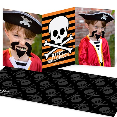 Skulls and Spooks Photo Halloween Cards