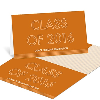 Standout Year Graduation Thank You Cards