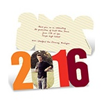 Taking Notes -- Custom Photo Graduation Announcements