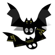 Batty Birthday Halloween Birthday Party Invitations