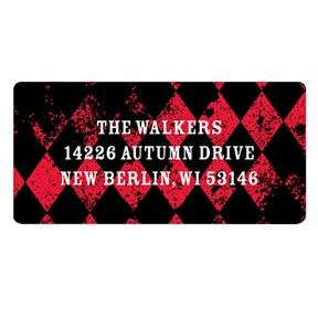 Vintage Vibrancy -- Halloween Return Address Labels