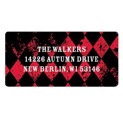 Vintage Vibrancy Halloween Return Address Labels