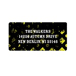 Halloween Vibrancy -- Vintage Address Labels