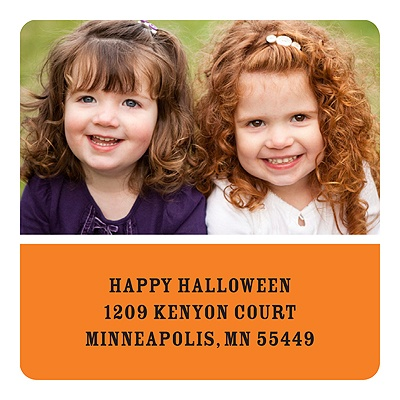 Happy Halloween Personalized Stickers