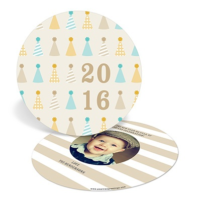 Party Hat Assembly Photo New Years Cards