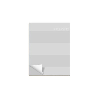 Rugby Stripe Notepads
